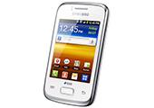 869256 - Smartphone Samsung Galaxy Y Duos S6102 Branco