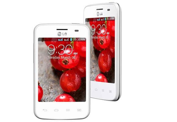 869591 - Smartphone LG E435 Optimus LG3 II Dual Branco