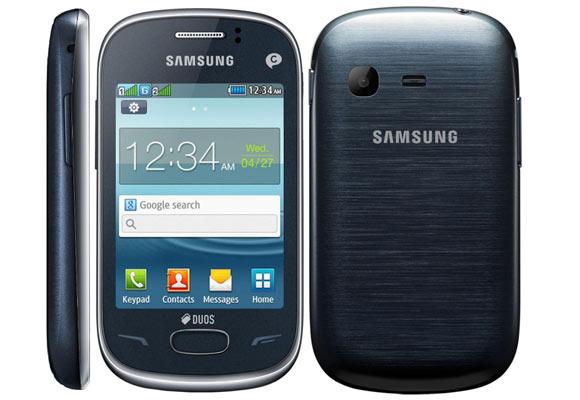 869959 - Smartphone Samsung Rex 70 S3802 Cinza