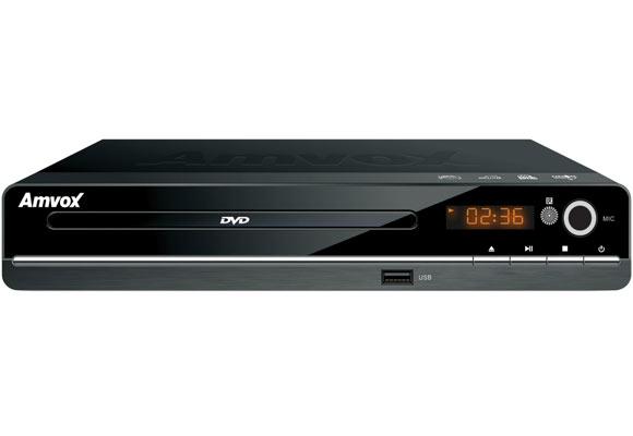 870375 - DVD AMD 300K Amvox Bivolt