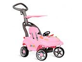 Carrinho de Passeio Bandeirante Smart Baby Rosa 527