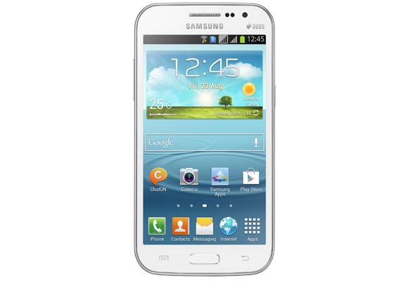 888936 - Smartphone Samsung Galaxy Win Duos I8552 Branco