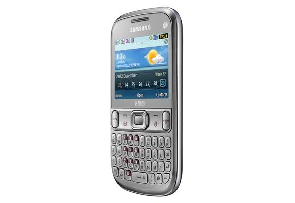 889025 - Celular Samsung Chat 333 Trios Prata