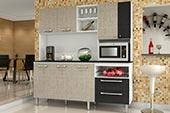 Arm�rio Cozinha Kits Paran� Jade Linha Cinza