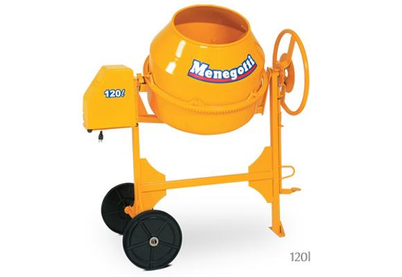 911603 - Betoneira Menegotti Top 10000 120L 220V