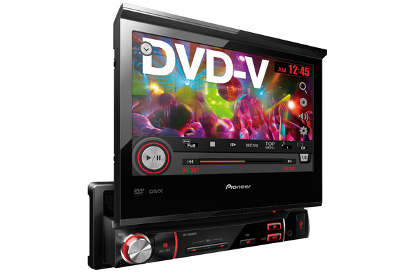 918107 - Pioneer DVD Player AVH3580 7 Retrati Usb
