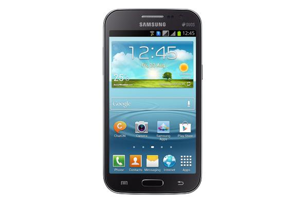 929172 - Smartphone Samsung Galaxy Win Duos I8552 Cinza