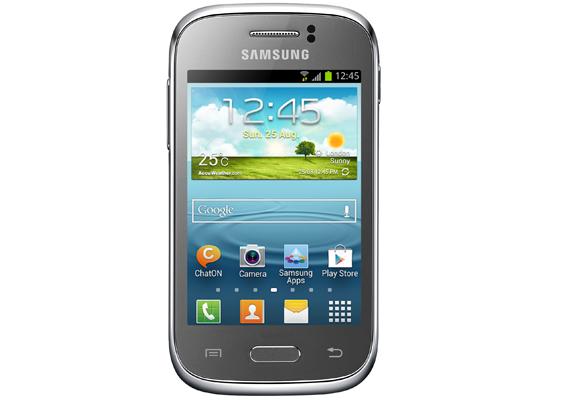 929196 - Smartphone Samsung Galaxy Young Duos TV S6313 Prata