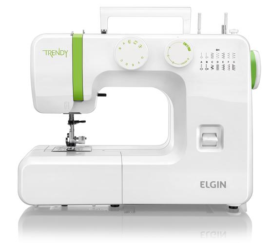 990363 - M�quina de Costura Elgin Trendy JX 3013 110V