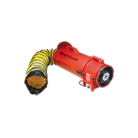 HECV1P20A45 - Insuflador/Exaustor Compaxial 110v C/ Suporte Duto 4.5m
