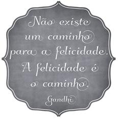 Adesivo Felicidade � Cole��o Fe Souza pra Home It.