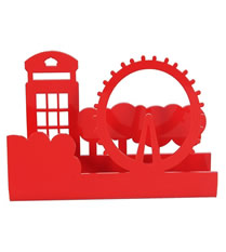Porta Guardanapo em Acr�lico modelo Londres - Galeria Gift