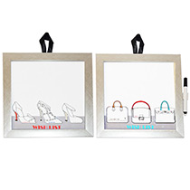 Kit 2 Quadro Lousas Wish List - Galeria Gift