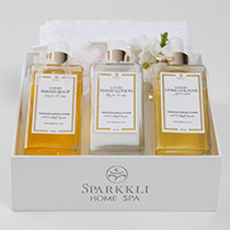 Kit 1 � Kit Luxury C�dro e Lavanda Francesa - Sparkkli Home Spa