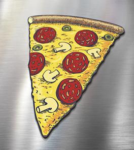Im� de Geladeira Pizza - I-Stick