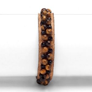 Feminino - Braceletes Caramelo Pedrarias 134006