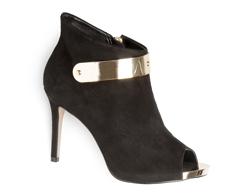 Bota Ankle Boot Preta Lisa 101005