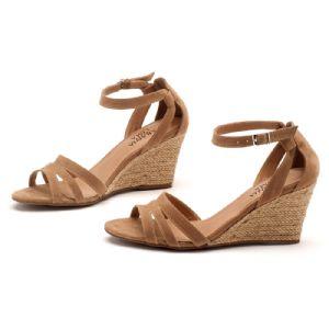 Sandálias em CORDA Top Caramelo Corda 9327