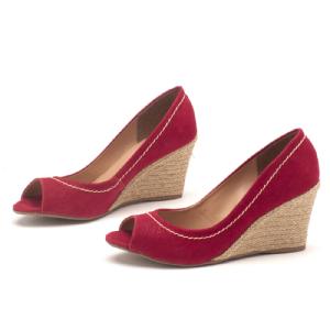 Sandálias em CORDA Top Cereja / Vermelho Corda 9328