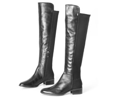 Bota Cano longo Preto Over The Knee 107272