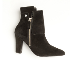 Botas Ankle boot Preta Lisa 31920