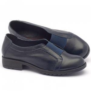 Sapato Retro Estilo Boho-Chic em couro - Código - 56131