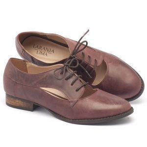 Sapato Fechado Standy by Estilo Oxford oxford em couro - Código - 9383