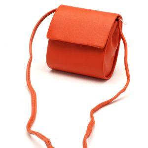 Feminina Transversal Laranja Bolsa compacta 97012