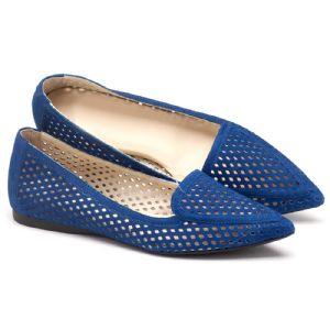 Sapatilha Bico Fechado azul  107372