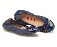 Sapatilha Bico Fechado Azul Matelass� 93073