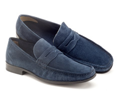 Sapato Masc Casual Azul Gravata 122008