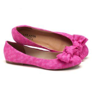 Sapatilha Bico Fechado Pink  9330