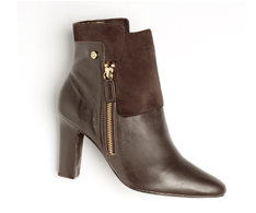 Botas Ankle boot Café Lisa 31920