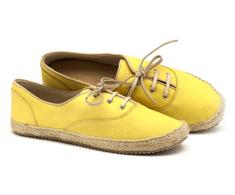 T�nis Cano Baixo Amarelo Corda 116008