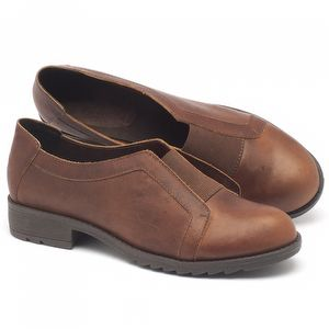 Sapato Retro Estilo Boho-Chic em couro  56131
