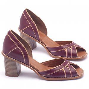 Sandália Salto médio de 6cm - Código - 3489