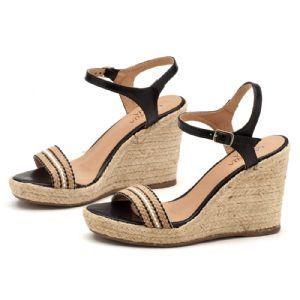 Sand�lias em CORDA Top com salto de 9cm atras e 2cm na frente em corda 9355