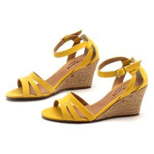 Sandálias em CORDA Top Amarelo Corda 9327