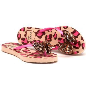 Rasteira Top Pink Pedras 121003