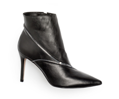Botas Ankle boot Preto Zípper 101006