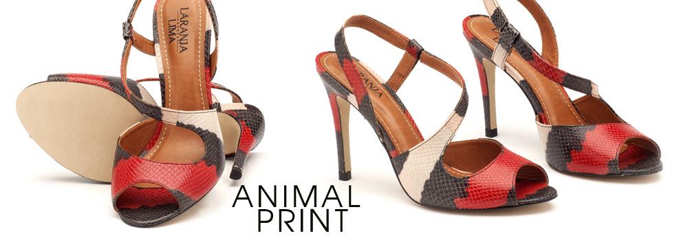 Sand�lia animal print