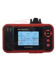 Scanner Automotivo com Teste de Motor, ABS, AirBag e Transmissão (A/T)