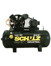 Compressor de Ar 10 HP Trifásico - 175 psi - 40 pcm - 353 litros - MSV 40 MAX/350
