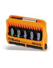 Jogo de 10 Bits Diversos com Ponta Magnética 860MIX/A10 - Beta