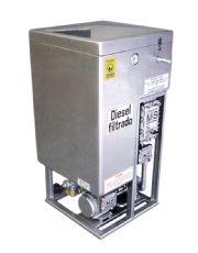 Filtro Prensa - 1 Bico - Vz. 3500 lts/h - Res. 120 lts