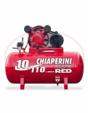 Compressor de Ar 2 HP Monofásico - 140 psi - 10 pcm - 110 litros - RED-10/110M