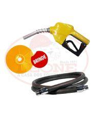 Combo com Bico OPW 1/2´´ +  Mangueira CONTINENTAL para Combustível com Terminais Fixo e Giratório em Alumínio + Protetor de Respingos OPW