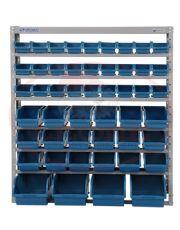 Estante Porta-Componentes - 49 Caixas