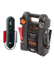 Combo Auxiliar de Partida Portátil 12V 500A + Carregador de Bateria SmartCharge 4A