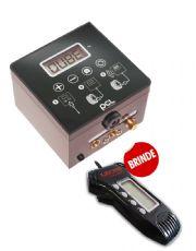 Calibrador de Pneus Qube - Para Ar e Purga de Nitrogênio - GANHE Profundímetro GRÁTIS